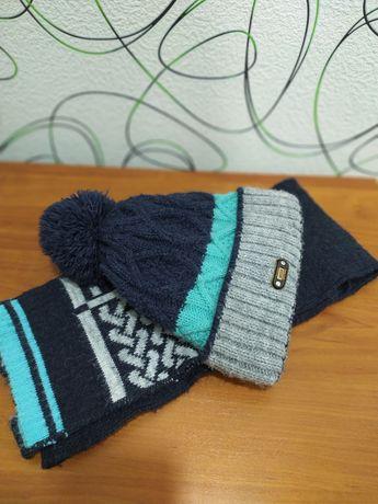 Зимняя шапка комплект