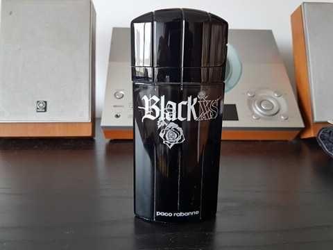 Frasco de perfume Paco Rabanne Black XS vazio