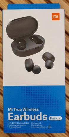 Słuchawki Xiaomi Mi True Wireless Earbuds Basic 2 czarne. Nowa. Okazja
