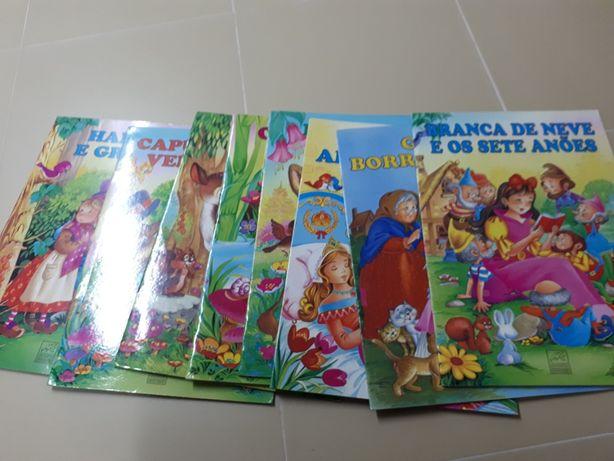 Colecção 8 livros de histórias