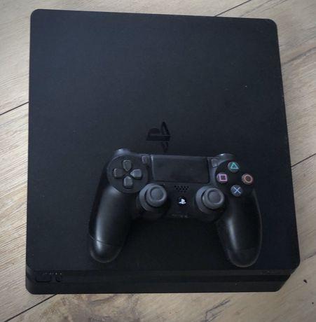 PlayStation 4 Ps4 slim 500gb zestaw pad kontroler jak nowa