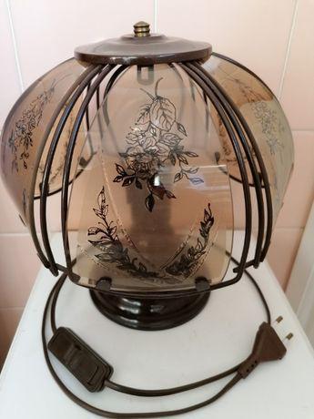 Lampka nocna stojąca retro - wys. 26 cm