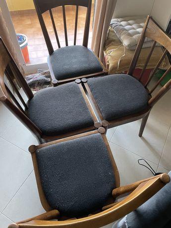 Cadeiras madeira para mesa
