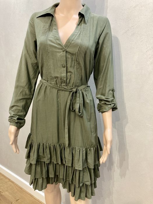 Sukienka khaki z Turcji rozmiar 38/40 Banino - image 1
