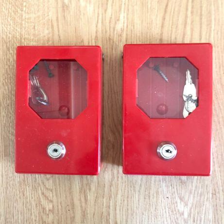 2 x skrzynka na klucz bezpieczeństwa PPOŻ / BHP