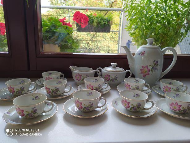 Serwis do kawy herbaty stara porcelana Karolina