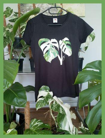 Koszulka t-shirt  bluzka monstera Variegata