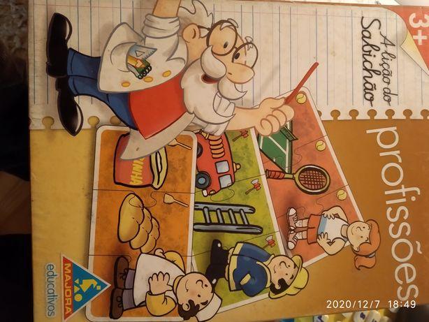 Jogos didáticos para crianças.