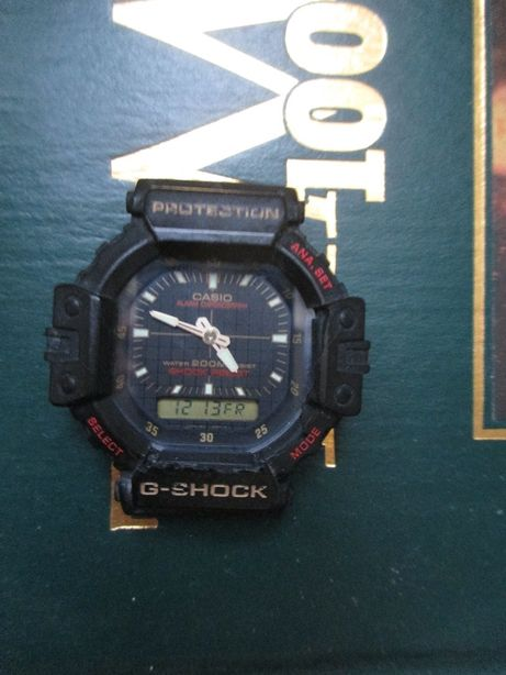 Casio G Shock 380 AW550. Shock Resistant.
