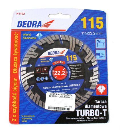 Tarcza segmentowa DEDRA H1192 turbo-t