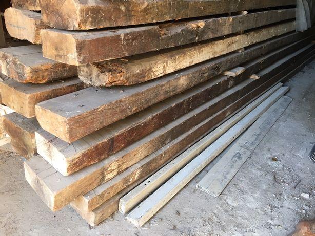 Vigas 5m madeira antiga de eucalipto centenário.