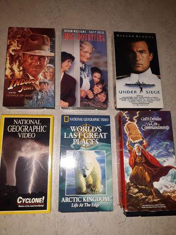 Kasety wideo VHS ,filmy