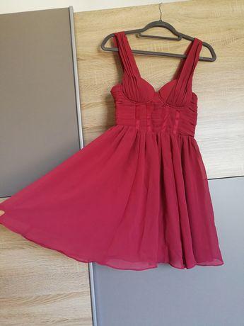 Różowa sukienka H&M rozmiar S