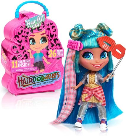 Кукла-сюрприз Хэрдораблс серия 5 Just Play Hairdorables S5 оригинал