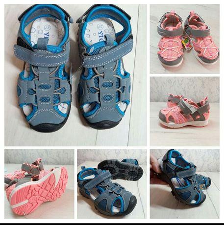 Босоножки для мальчиков и девочек детская обувь взуття дитяче