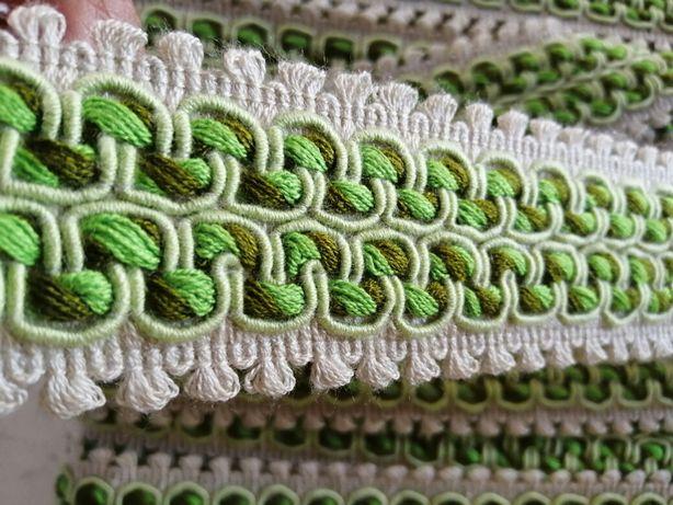 Galão fita de seda verde novo artesanato e DYI
