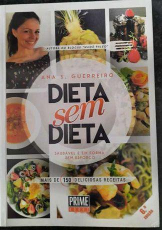 Livro Dieta sem dieta de Ana S. Guerreiro