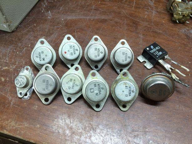 Резисторы, транзисторы и т.д. - для разных поделок