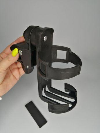 Универсальный подстаканник для детской коляски, поворотный купить