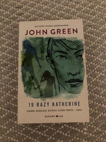 19 razy katherine - john green książka