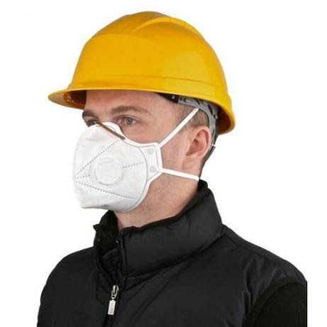Респиратор с клапаном выхода вохдуха, маска защитная многоразовая