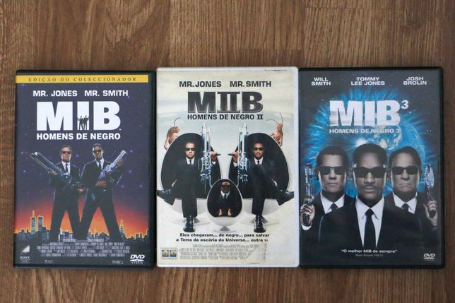Homens de Negro DVD