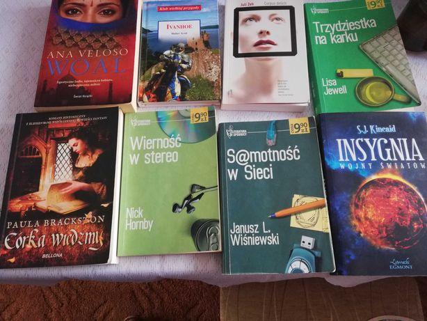 Książki, fantastyka, literatura kobieca