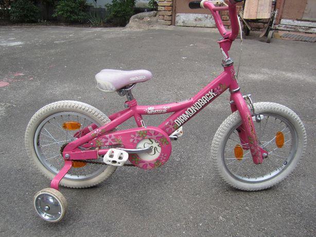 "Велосипед для девочки Diamondback Mini Impression 16"" США, 4-7 лет."