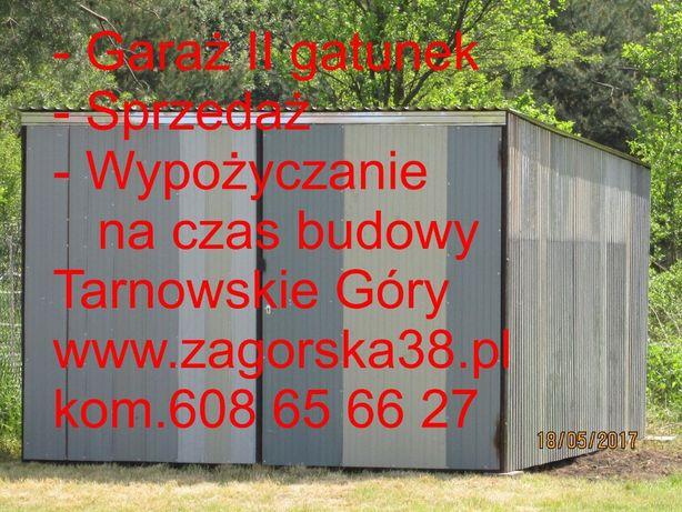 garaż sprzedaż-wypożyczanie