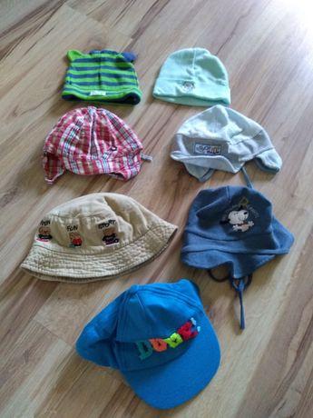 Zestaw czapki 3-12 miesięcy