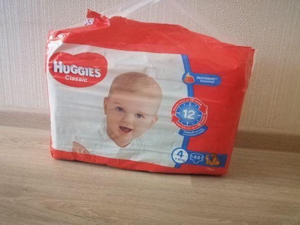Продам памперсы HUGGIES Classic