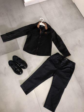 Piekny elegancki komplet Hugo Boss Zara H&M 104