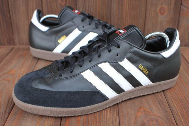 Кроссовки Adidas Samba кожа оригинал 44,5р кеды