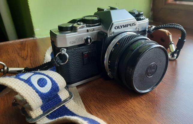 Фотоапарат плівковий Olympus om10 + Zuiko 50/f1.8+ Metz 30BCT4 спалах