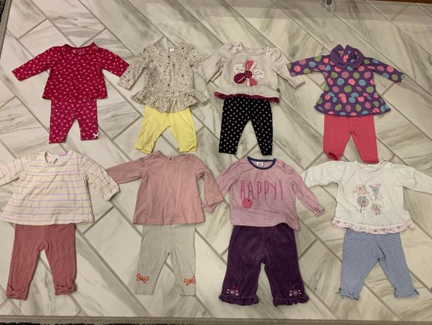 Дитячий одяг на дівчинку.