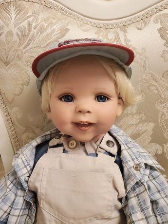 Кукла виниловая коллекционная малыш, ребёнок, мальчик