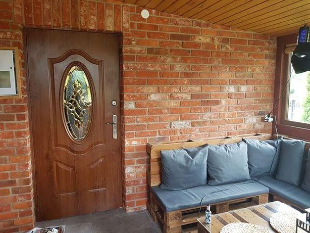 płytki ceglane z cegły naturalnej
