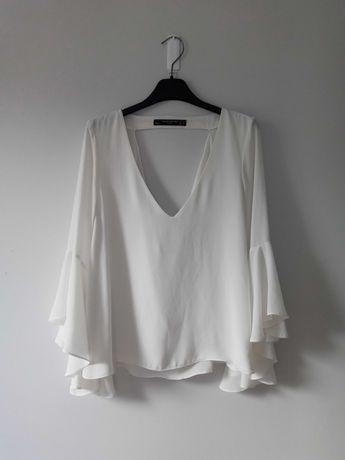 Biała bluzka Zara M/38