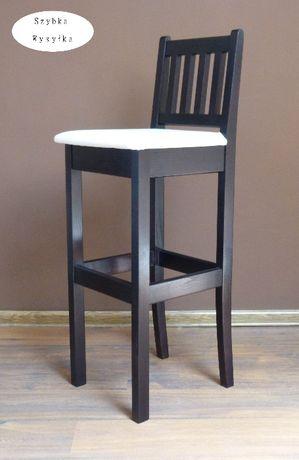krzesła barowe drewniane krzesło hoker wysoki hokery barowe z oparciem