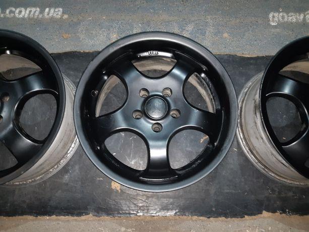 Goauto диски Real Germany 5/110 r16 et35 7j dia65.1 в хорошем состояни
