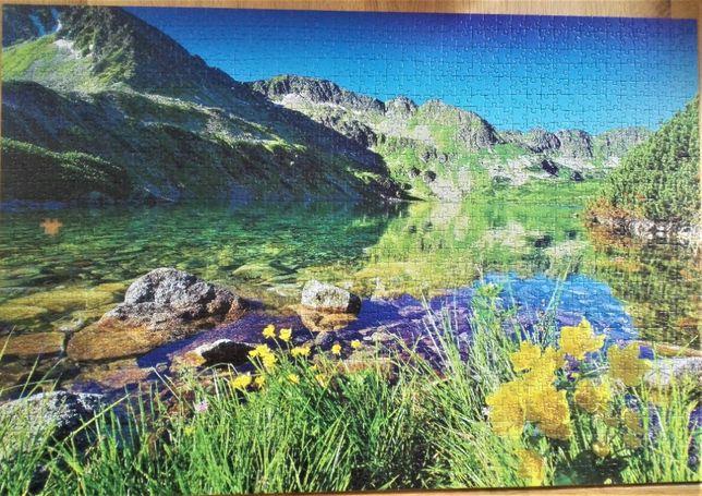 Trefl Premium Puzzle 1500 elementów Tatry Wielki Staw