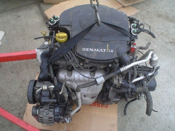 Двигатель мотор двигун Dacia LOGAN 1.4  дача Логан Рено Логан КПП