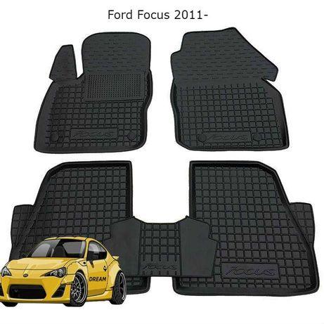 Коврики резиновые на Ford Focus/Mondeo/Fusion/Fiesta/Kuga/Edge/Transit