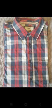 Męska koszula w kratę