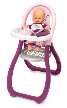 2 ПО ЦЕНЕ1 Стульчик Smoby Toys Baby Nurse Прованс для кормления 220342