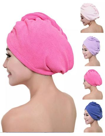 Turban z mikrofibry ręcznik do włosów chłonny