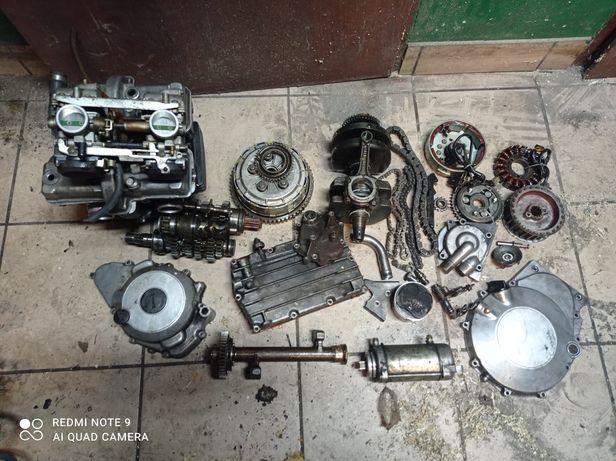 Kawasaki ltd 450 en 454 Vulcan cm części silnik wał rozrusznik stator