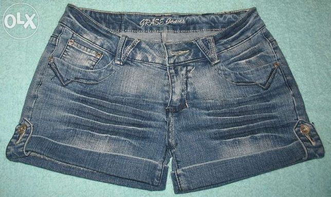 krótki spodenki jeansowe roz 38