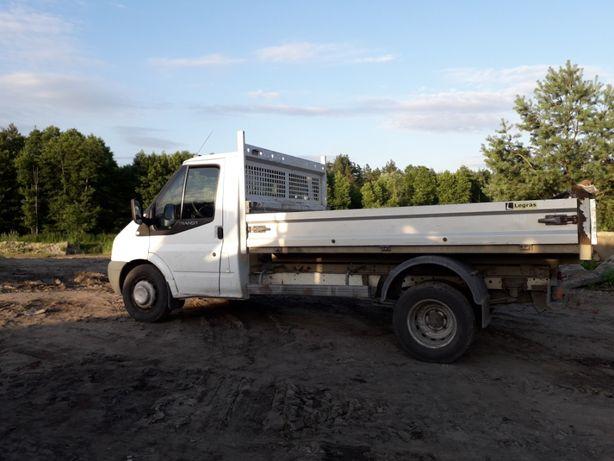 Transport 3,5 t ziemia ogrodowa