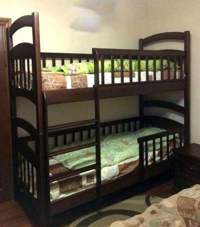 Двухьярусная кровать-трансформер для детской Карина Люкс